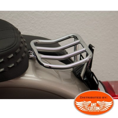 Softail Heriitage Classic Rack porte-bagage Chrome pour Harley Davidson