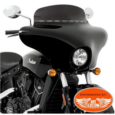 "Indian Batwing Fairing fit Scout Sixty - ""Quickly"" Kit mount"