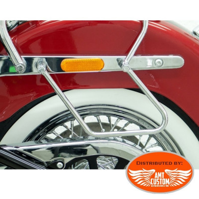 Softail FLDE Deluxe - Supports écarteurs sacoches pour Harley Davidson