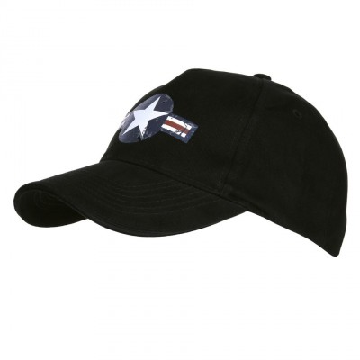 US Air Force Biker custom Black Hat