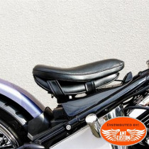 Comfort seat cushion black for motorcycle rider