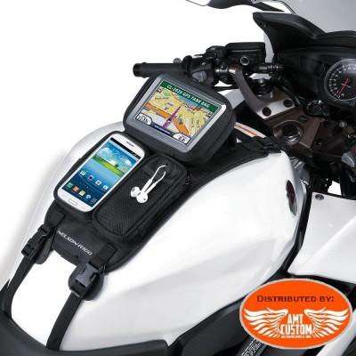 Sacoche réservoir pour GPS, téléphone... Moto