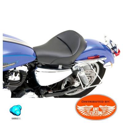 Sportster Selle solo Basse Renegade Gel confort XL883 XL1200 de 2004 à aujourd'hui