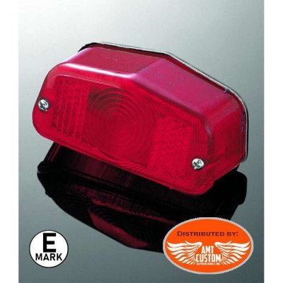 Lucas stop light for Harley homologated E-mark.