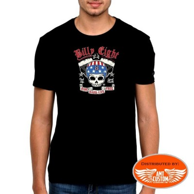 Original Tee shirt Biker Billy Eight Bad Life Good Death