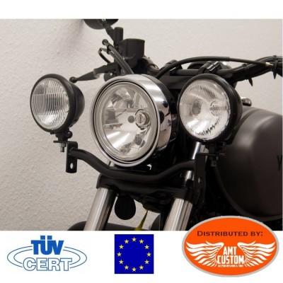Yamaha XV950R Barre phares additionnels Noir