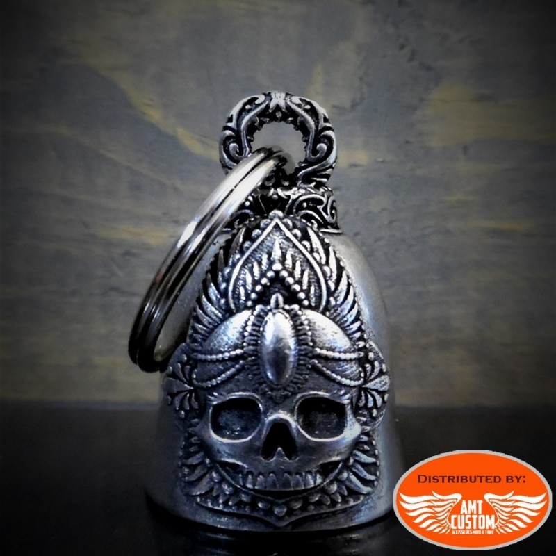 King head skull bell motorcycles custom