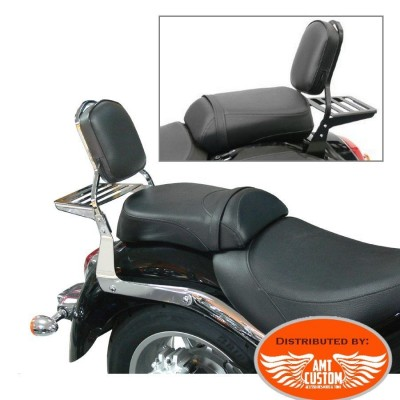 Suzuki Sissy Bar Intruder C1800R C109R VLR1800 with Rack Black or Chrome