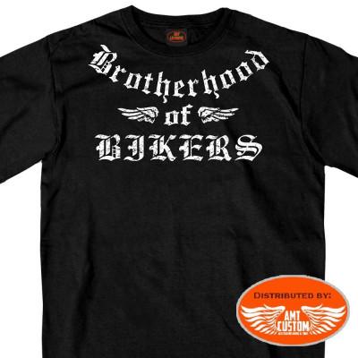 Brotherhood of bikers t-shirt