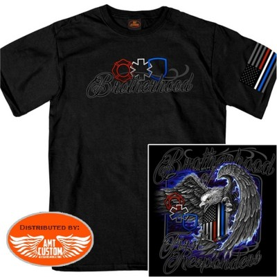 T-shirt brotherhood of first responders