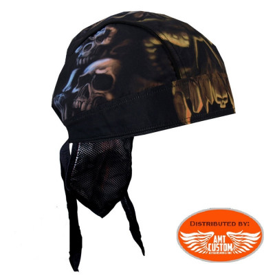 Zandana biker skull cavern