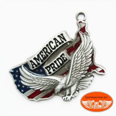 Eagle usa pendant for necklace