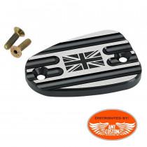 Triumph Black Union Jack brake master cylinder covers Bonneville America Thruxton Speedmaster Rocket III