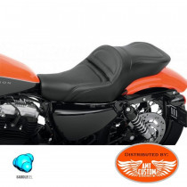 Sportster Duo Seat Gel Core confort  XL 883 and 1200 tank 3,3 Gallon (12,5 l) Harley Davidson