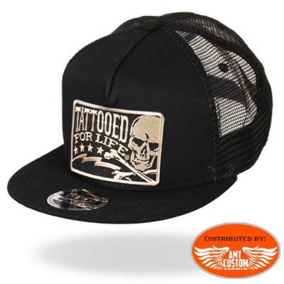 2nd Amendment biker ball trucker hats cap