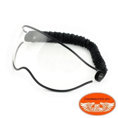 Lunettes biker transparente pour casque DMD