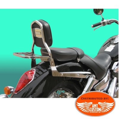 Honda Sissy Bar with Rack chrome