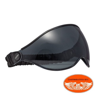 DMD helmet transparent biker glasses