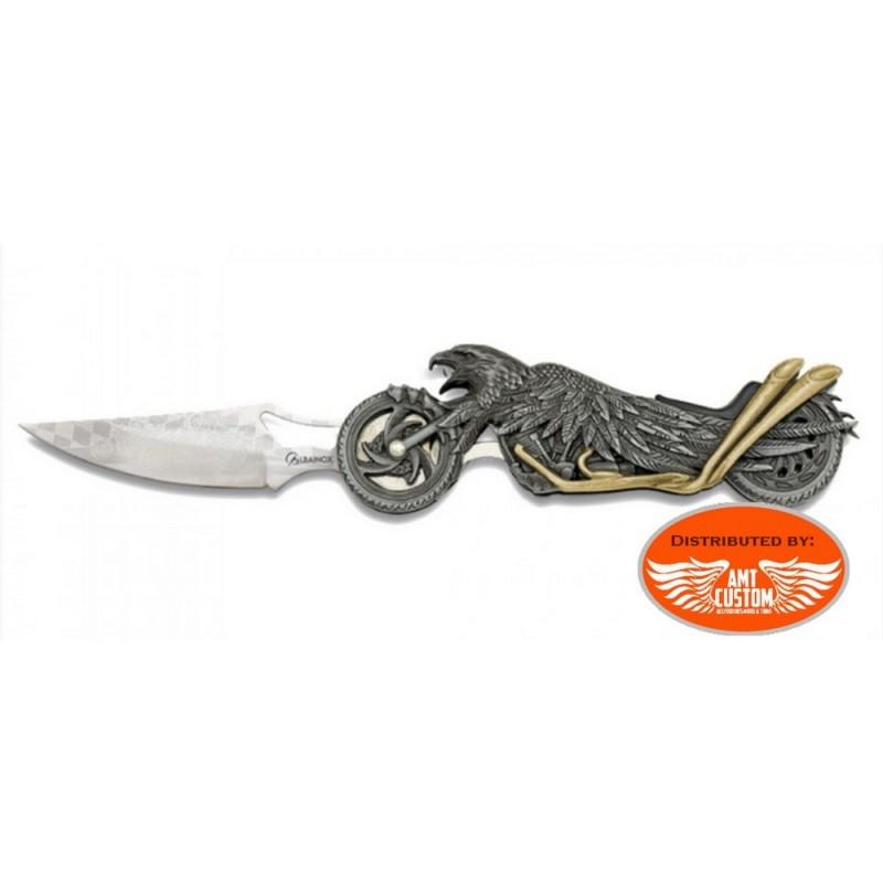 Eagle lamp motorcycle knife