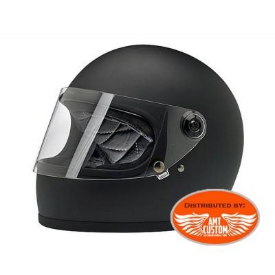 Helmet Biltwell Gringo S ECE flat black