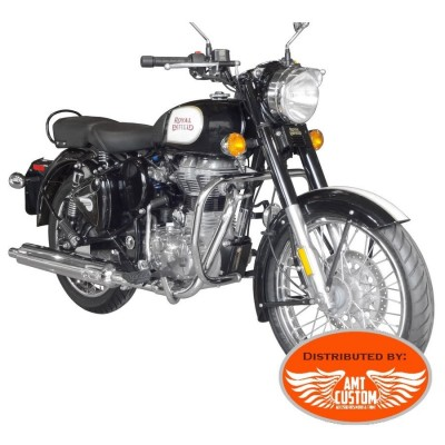 Royal Enfield Classic 500 Pare-cylindre Chrome - Pare jambes pare-carter Royal Enfield