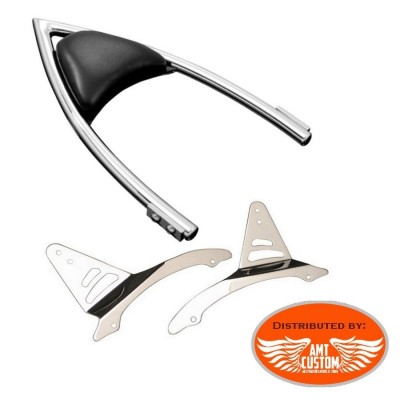 "Yamaha Sissy Bar Passager "" ARCH "" chrome Dragstar Midnight Star Wildstar V-Star"