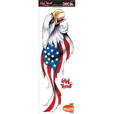 2 Tank Stickers Large Format Eagle USA.