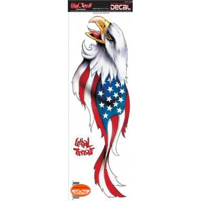 Stickers réservoir grand format Aigle USA.
