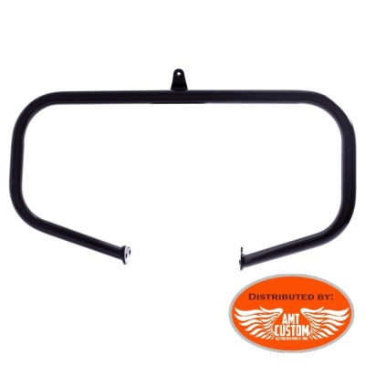 Black Fat engine guards Harley Street Glide, Electra Glide, Road King, Tri Glide