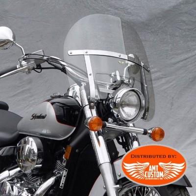 Yamaha Windshield Low Boy with Fork Mount Kit Dragstar Virago V-Star XV XVS