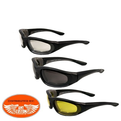 ultra comfort biker sunglasses motorcycles Harley