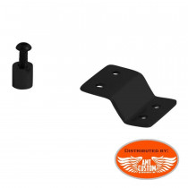 Support Rack tubulaire porte-bagage Solo Noir Custom Bobber