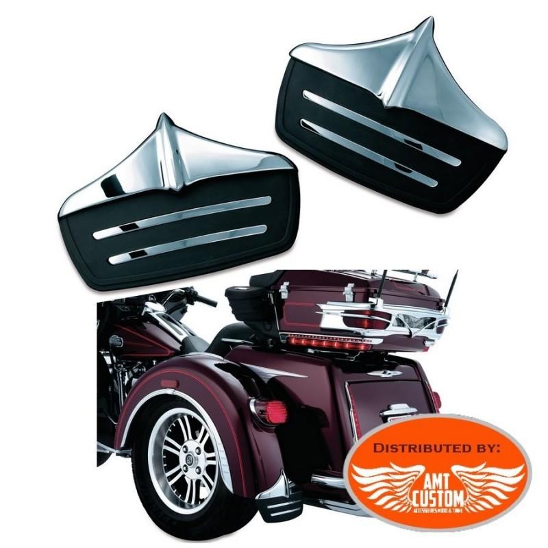 Tri Glide Mud Flaps Ornament rear fender for Trike Harley