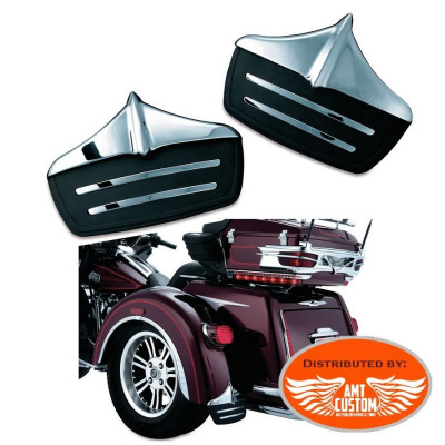 Tri Glide Mud Flaps Ornament rear fender for Trike Harley