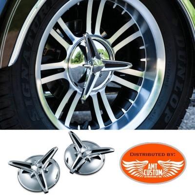 Tri Glide enjoliveurs axes roues arrières pour Trike Harley FLHTCUTG