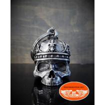 Clochette Porte-bonheur Tête de Mort Roi Couronne Lys