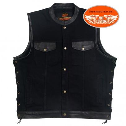 Black Jean Shirt jacket