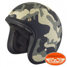 Casque Stormer Demi Jet Pearl camouflage