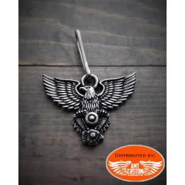 Eagle Zipper Pull Jacket Harley