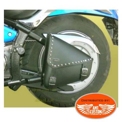 Sacoche de cadre Triangle Universelle à clous moto custom