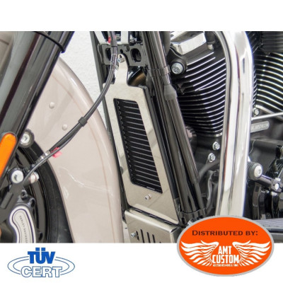 Softail (2018-Up) Radiator Cover Milwaukee-Eight 107/114