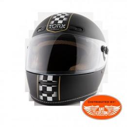 Black Helmet TORX Barry Legend ECE Certification