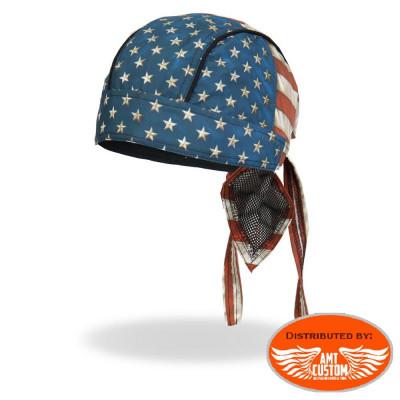 Zandana biker Drapeau US