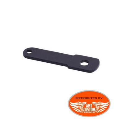 Turn Signal extension kit Black for saddlebag support