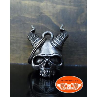 Clochette-Porte-bonheur-Skull-Satan-Cornes-Enfer