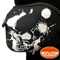 Masque néoprène LUXE skull tête de mort