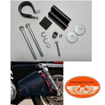 Sportster Support sacoche de cadre pour Harley Davidson XL883 et XL1200