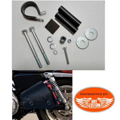 Support for Single sided bag Swingarm Bag for Harley XL883 XL1200