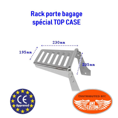 Suzuki Rack porte bagage chrome Top Case