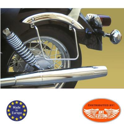 Yamaha XVS 125 Drag Star Mounting saddlebags holder